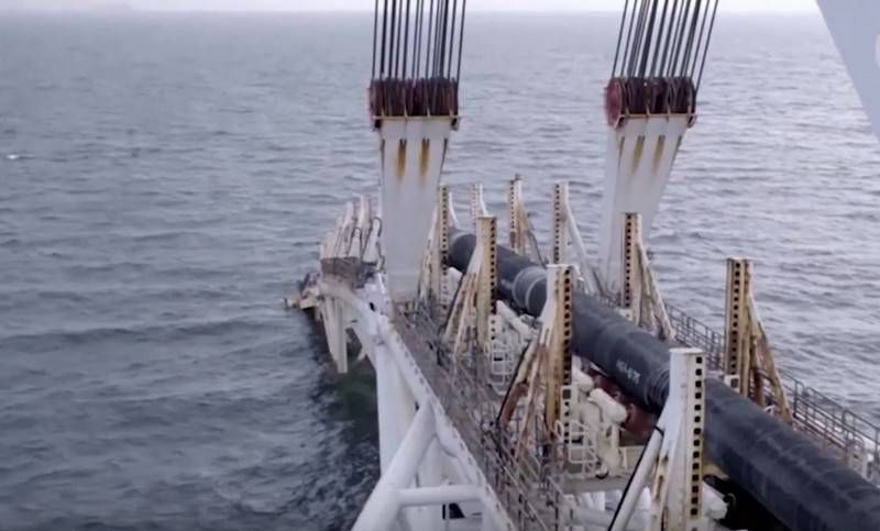 "Construction ""Nord stream-2"" extended for the winter and spring of 2020"