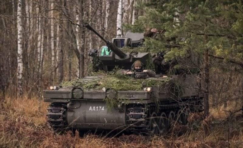Латвия намерена заказать дополнительную партию устаревших бронемашин CVRT