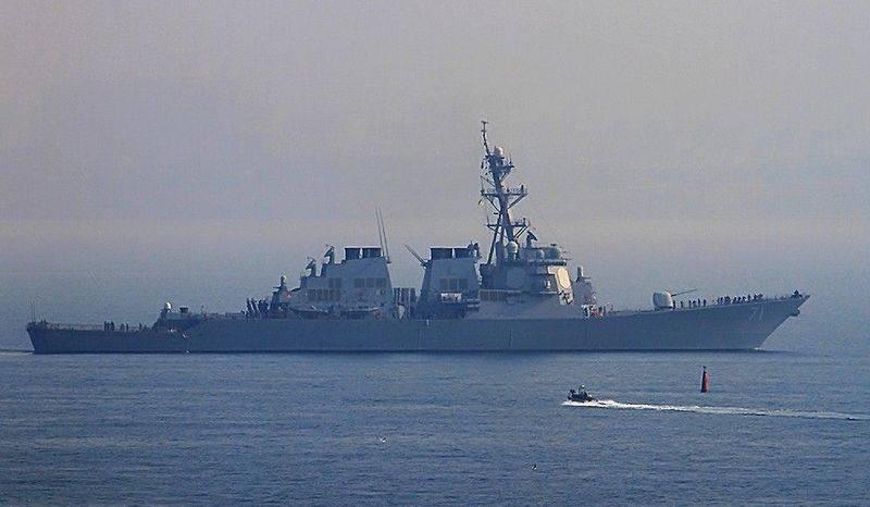 В Чёрное море вошёл американский эсминец УРО Ross (DDG-71)