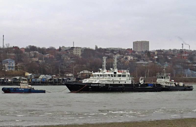 İki BGK 23040G projesi test için Karadeniz'e gitti