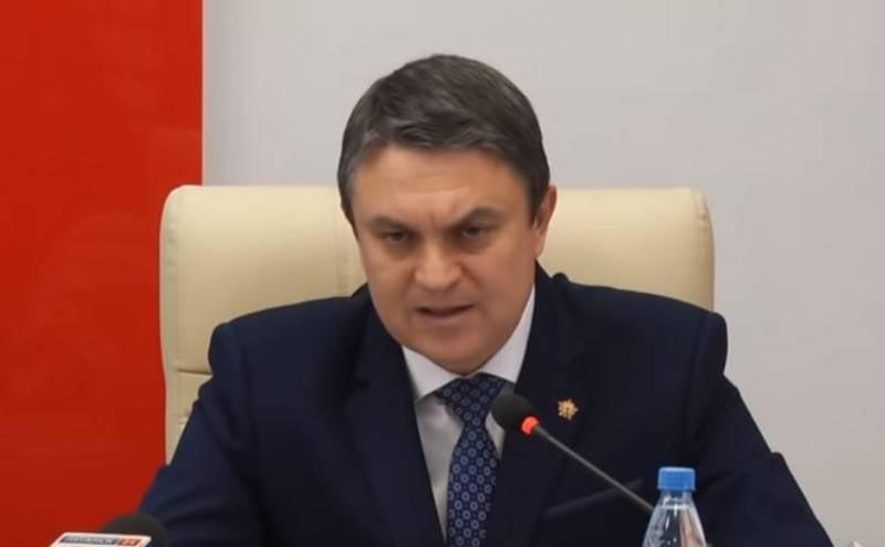 ЛНР установила госграницу в рамках Луганской области по состоянию на 2014 год