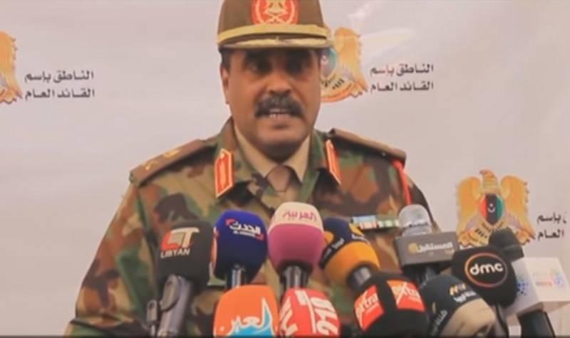 L'LNA del maresciallo Haftar ha presentato un ultimatum al PNS Faiz Saraj