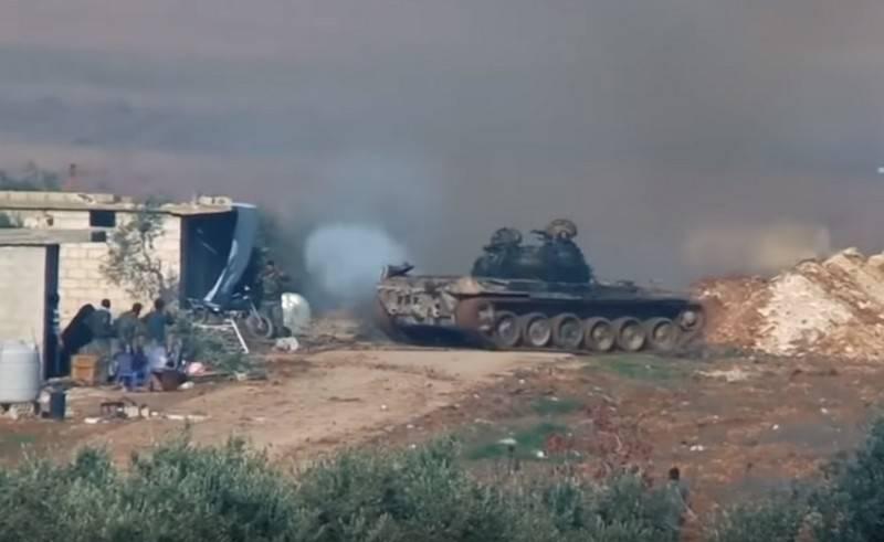 सीरियाई सेना ने इदलिब प्रांत में आतंकवादी हमलों को तोड़ा