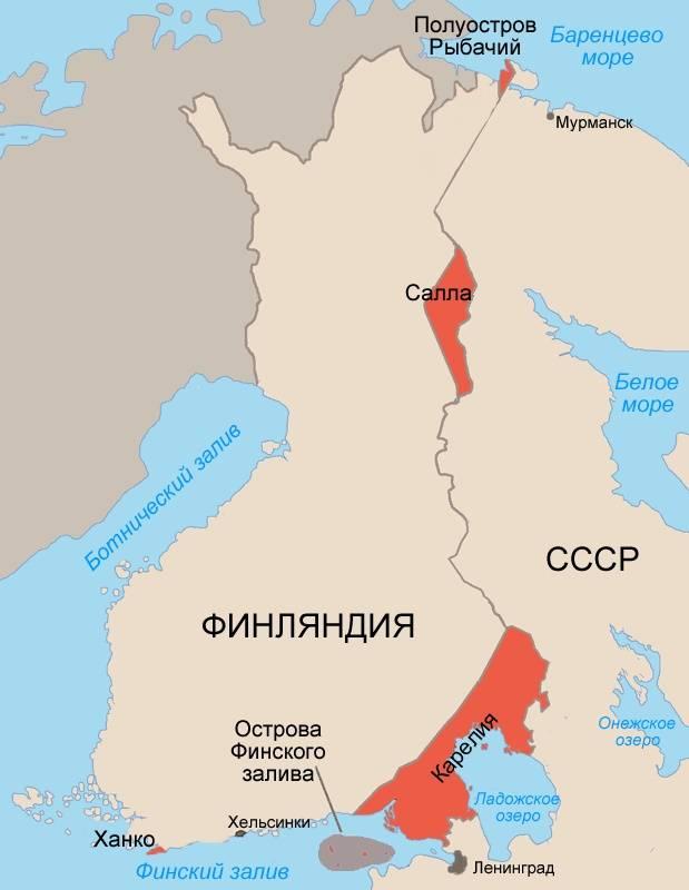 Sowjetische Zeitungen im Endstadium des sowjetisch-finnischen Krieges