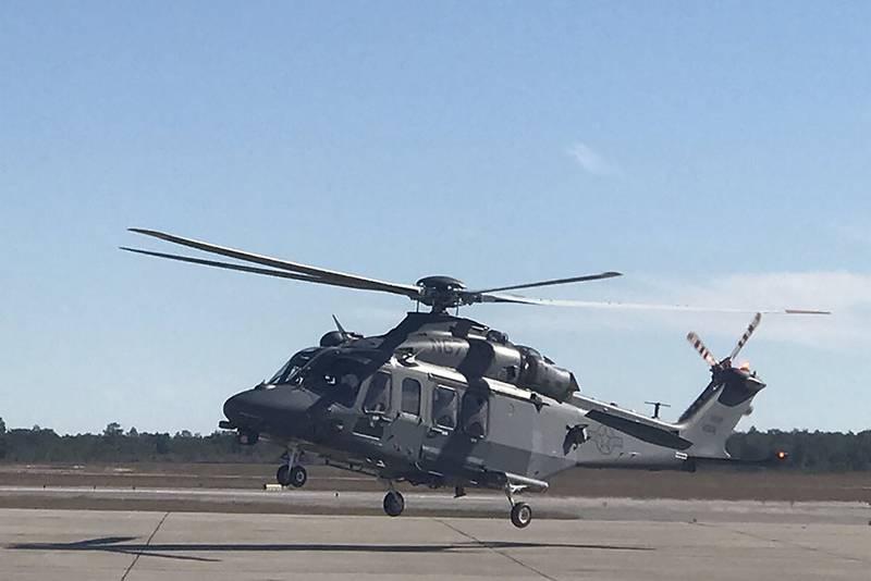 ВВС США приняли на вооружение новый вертолёт MH-139A Grey Wolf