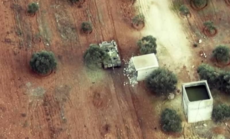 Выжить при попадании TOW: Видео поражения танка Т-62