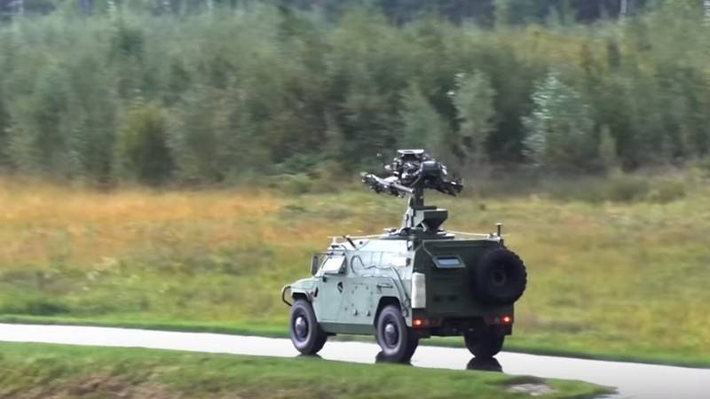 "The Ministry of Defense showed a video test of the new air defense system ""Gibka-S"""