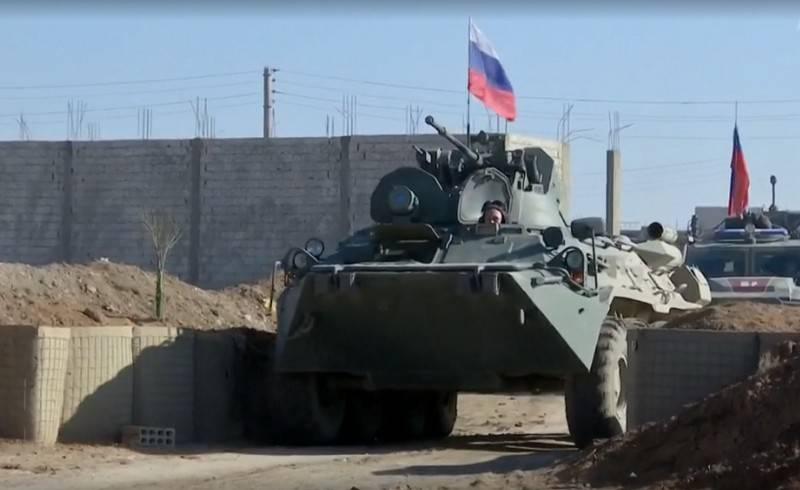 Russische Militärpolizei besetzt ehemalige US-Militärhochburg in Syrien