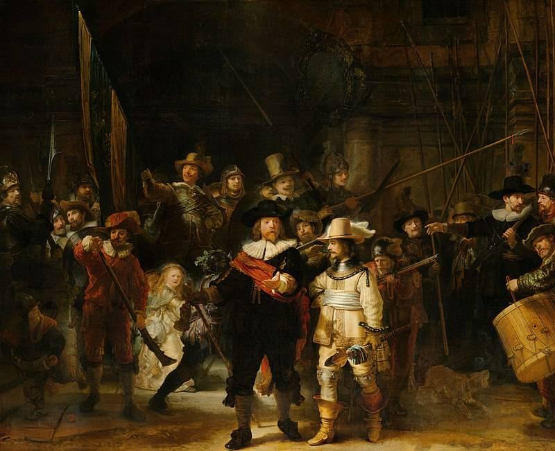 «Ночной дозор» отменяется. Разглядывая полотно Рембрандта