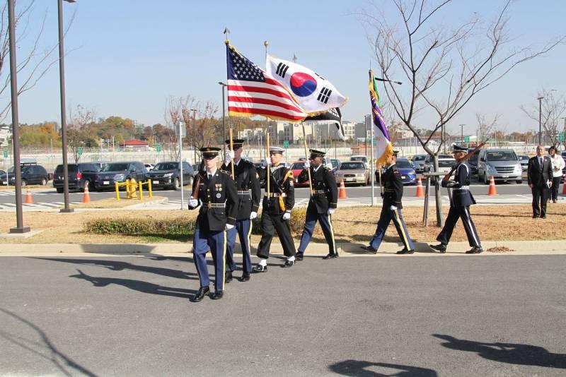 Американские военные заявили, что вернули ряд территорий Южной Корее
