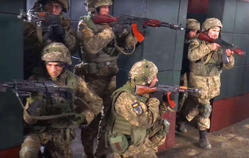 В ВСУ создан объект для тренировок боёв в городских условиях