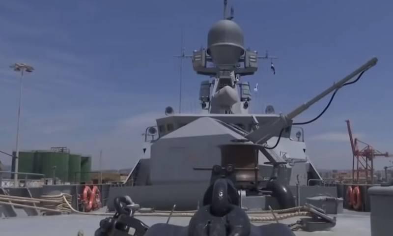 Рассказано о сценарии совместных учений ВМФ РФ и ВМС Сирии в Средиземном море