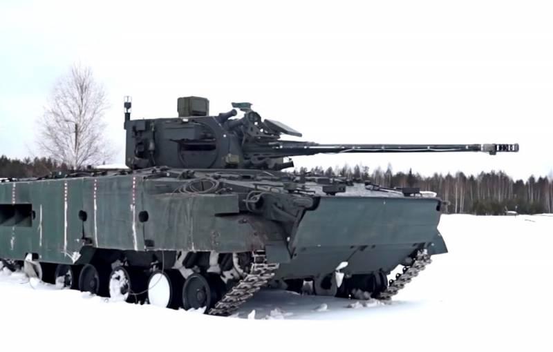 Представлены кадры испытаний самоходной установки 2С38 «Деривация»