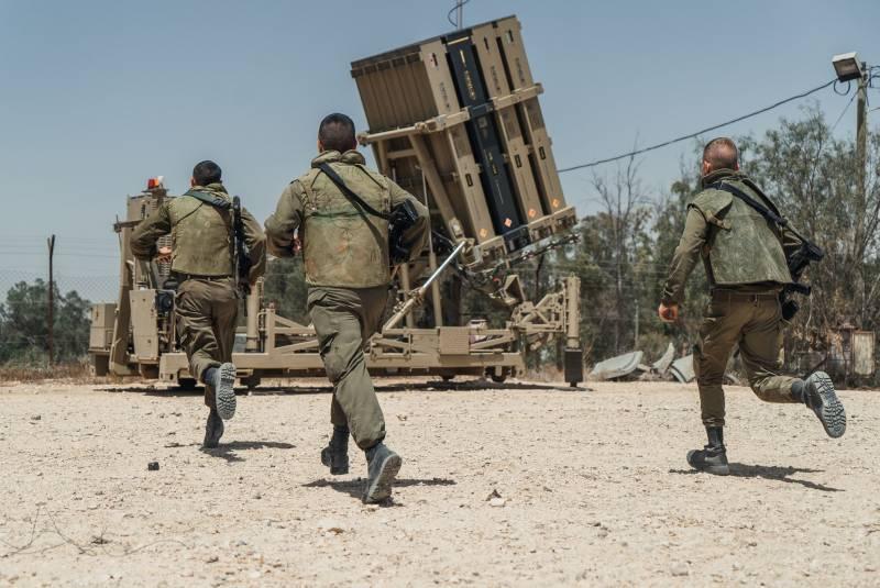 «Железный купол» перехватил очередную ракету из сектора Газа
