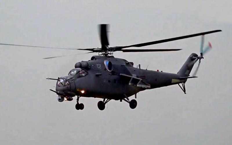 Узбекистан получил первый российский вертолёт Ми-35М