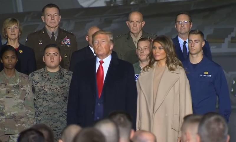 Трамп сообщил о создании в США Космических войск