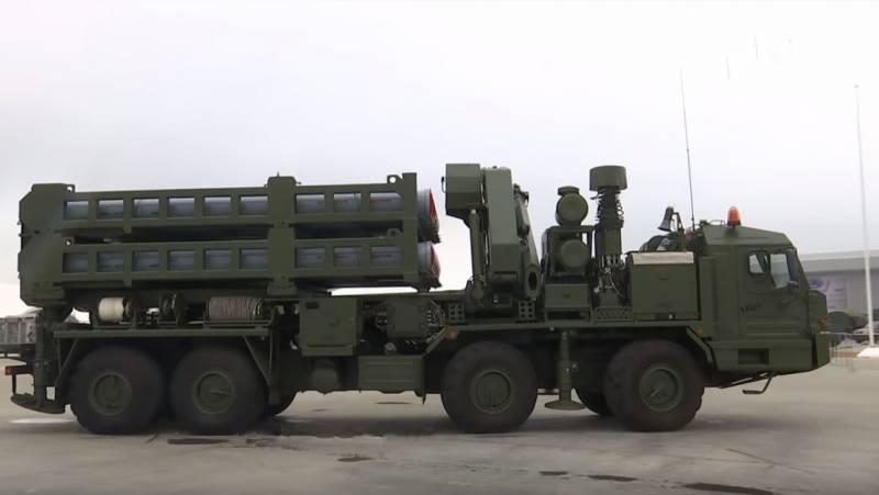 ВС РФ получили ЗРС С-350 «Витязь» на полигоне Капустин Яр