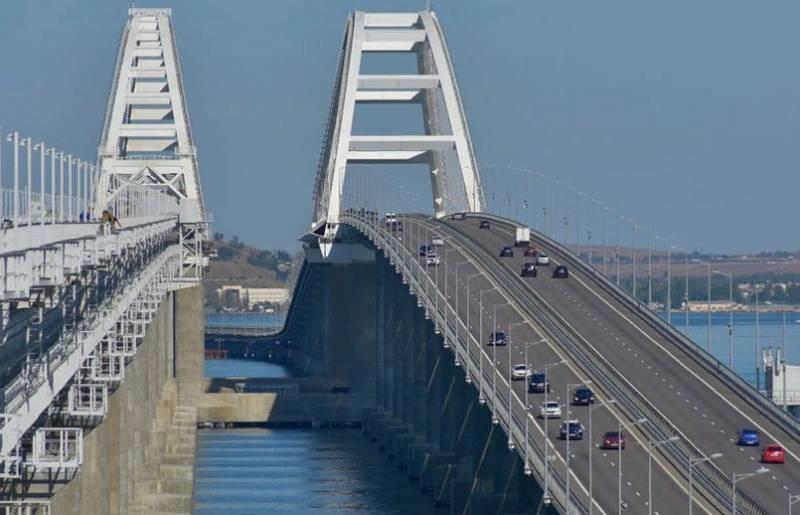 На Украине: Крымский мост вполне можно считать военным объектом