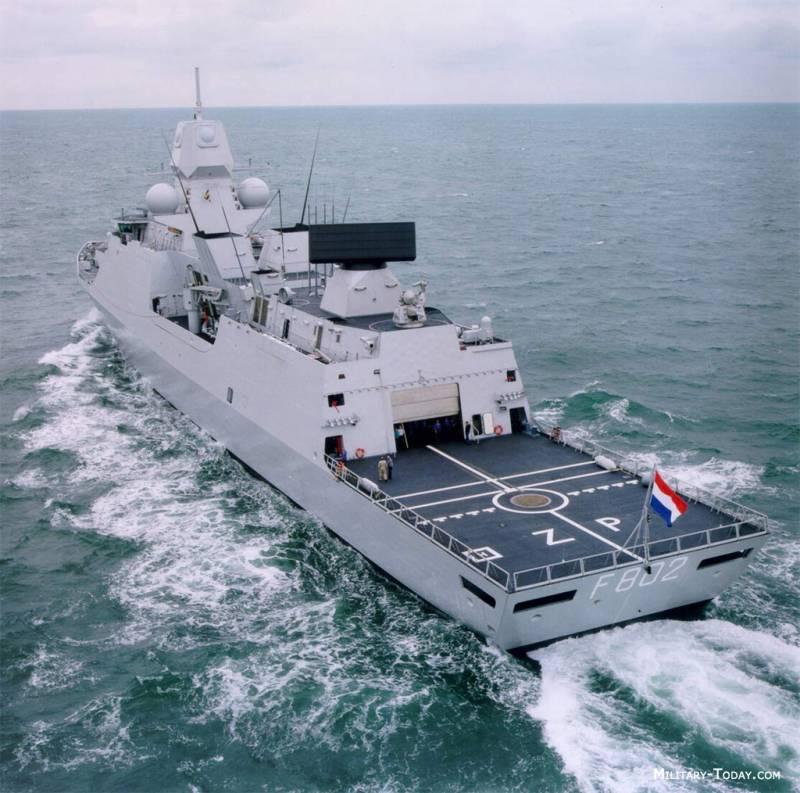«Летучий голландец», задающий стандарты для эсминца «Лидер»