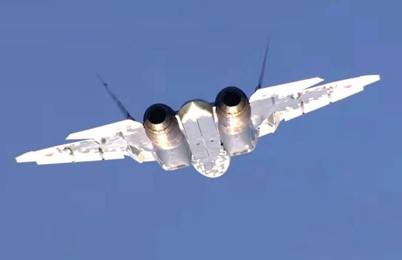Сообщается о сроках поставок истребителей Су-57 в ВКС России