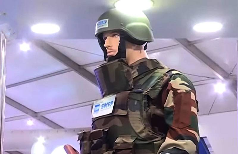 In India, tests of a composite body armor that withstand hit from AK-47 are completed