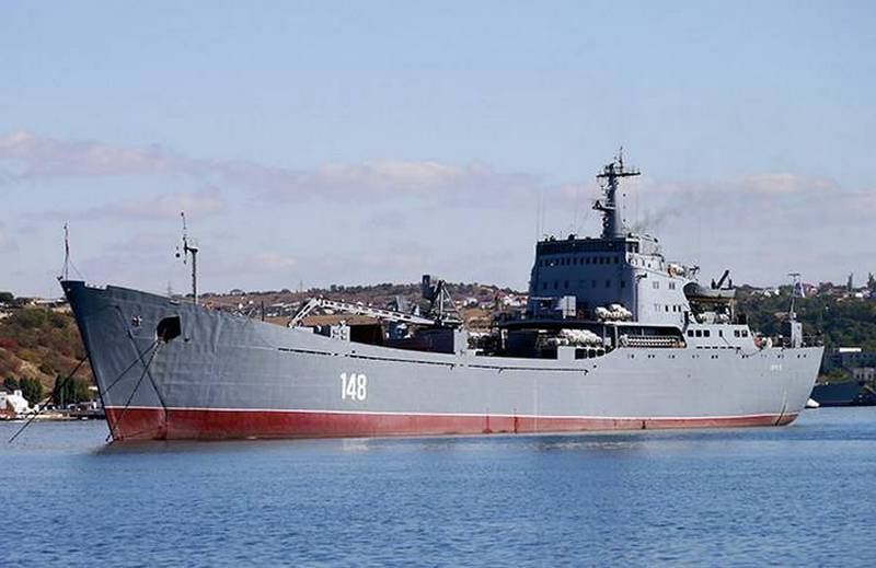 """""""Syrian Express"""" loses one ship: BDK """"Orsk"""" gets up for repair"""