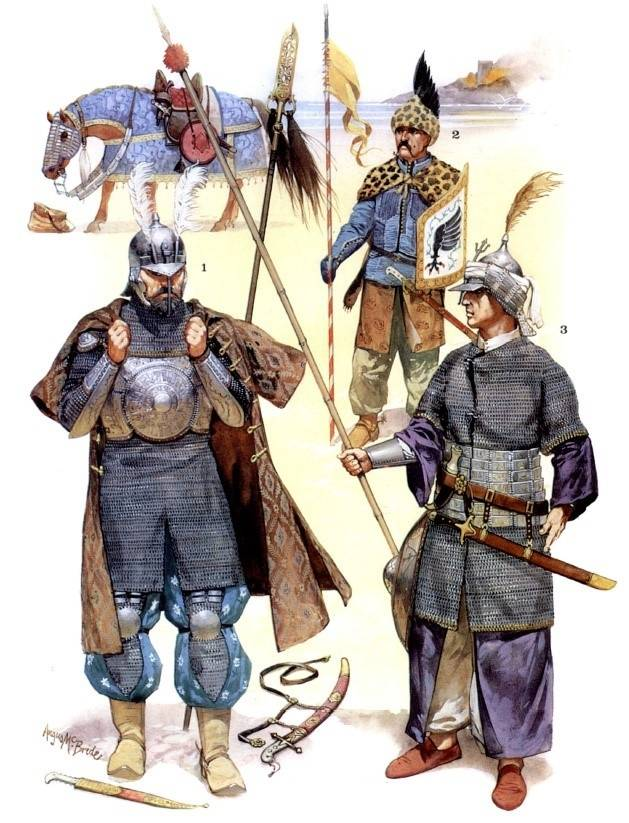 Enemies of the Cuirassiers