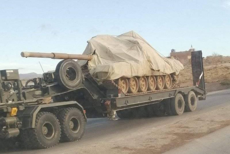A Argélia recebeu outro lote de tanques russos T-90CA