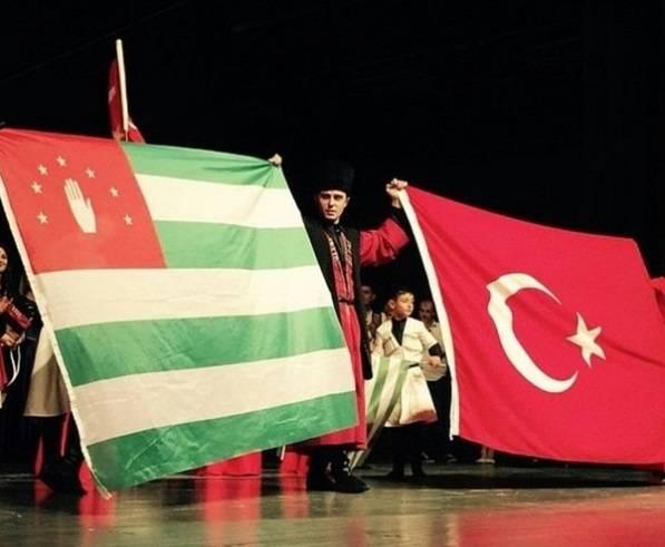 Abkhazia: Cabo de Bikford do sul