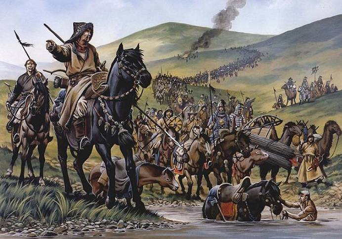 the Battle of Legnica: the Horde cavalry vs knights of Europe