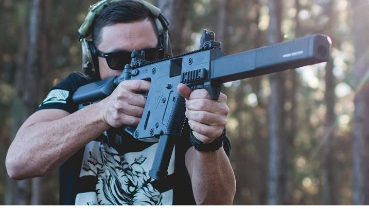 "Submachine gun carbine: modules, calibers and ""whales"""