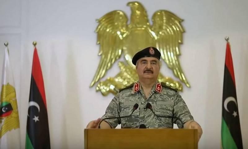 Командующий ЛНА Хафтар выдвинул требования для подписания перемирия