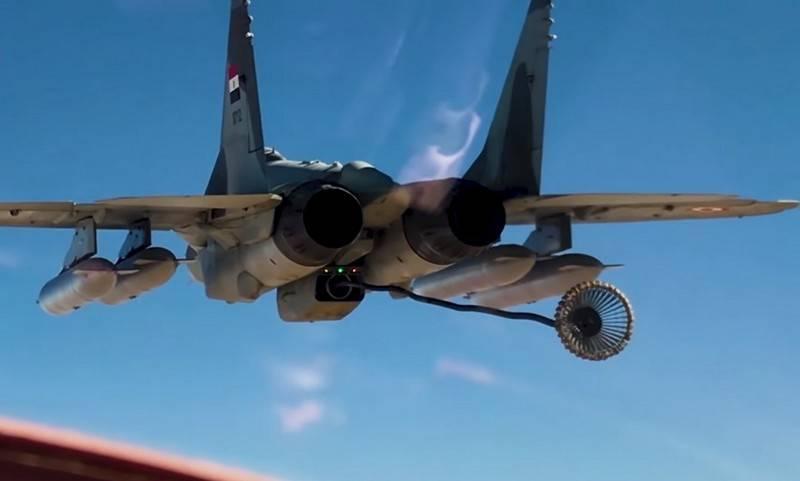 O Egito converteu o MiG-29M / M2 recebido da Rússia em navios-tanque