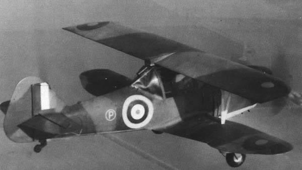 Hillson Bi-Mono pilot aircraft (UK)