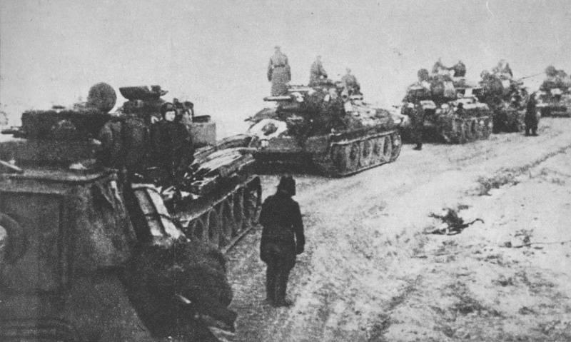 Wie die sowjetischen Truppen Warschau befreiten