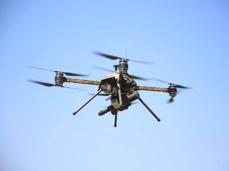 Minenräumung: ein neuer Drohnenberuf