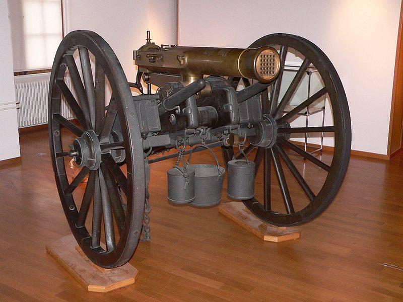 Генерал Реффи: человек и его «пулемёт»