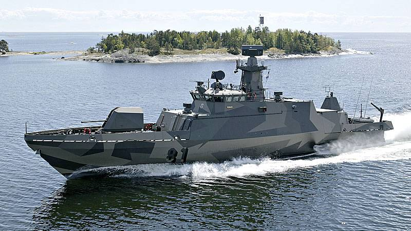 Finnish Navy receives first Hamina-class modernized missile boat