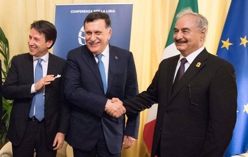 Sarraj threatens Haftar with the invitation to Libya of international forces under the auspices of the UN