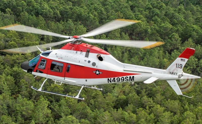 US Navy Selects New Training Helicopter