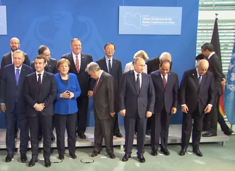 在柏林举行的关于利比亚的会议被认为没有成功