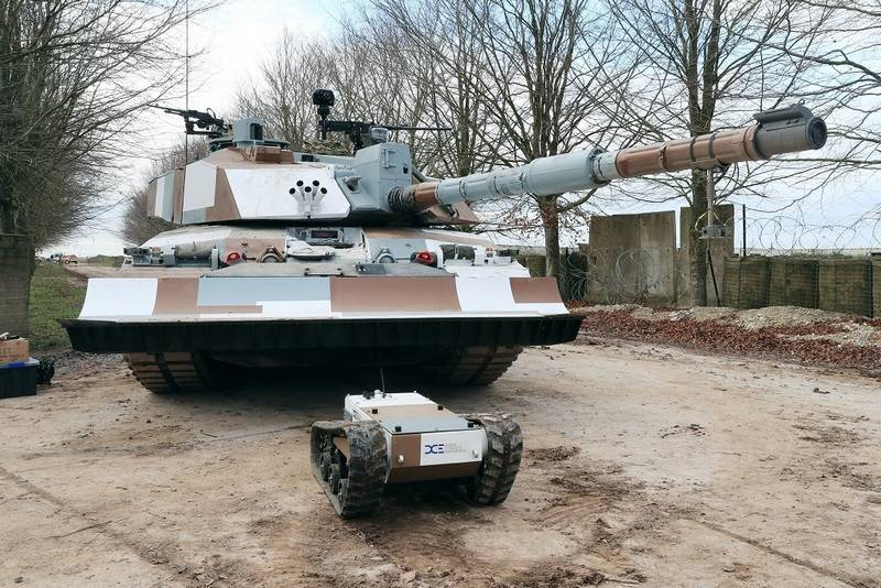 The British introduced the new Challenger 2 tank for action in urban environments