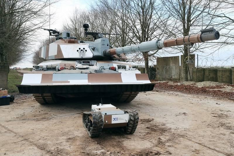 Los británicos presentaron el nuevo tanque Challenger 2 para la acción en entornos urbanos
