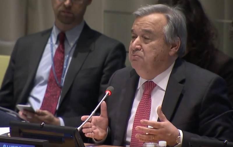 """El secretario general de la ONU advierte que cuatro """"jinetes del apocalipsis"""" amenazan la paz"""