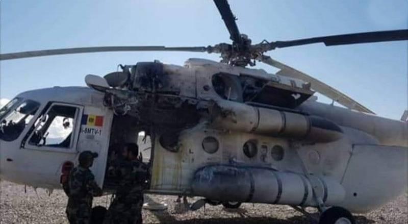 Die Taliban haben einen Mi-8-Hubschrauber der privaten Verteidigungsfirma Moldawiens abgeschossen