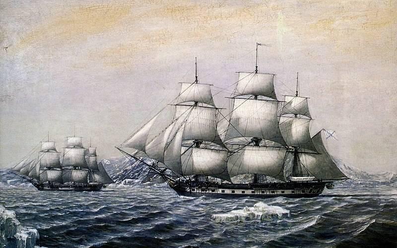 Vor 200 Jahren entdeckten russische Seeleute die Antarktis