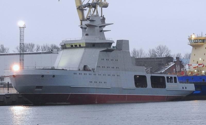 Se planea colocar el segundo rompehielos de patrulla en serie del proyecto 23550 en Vyborg