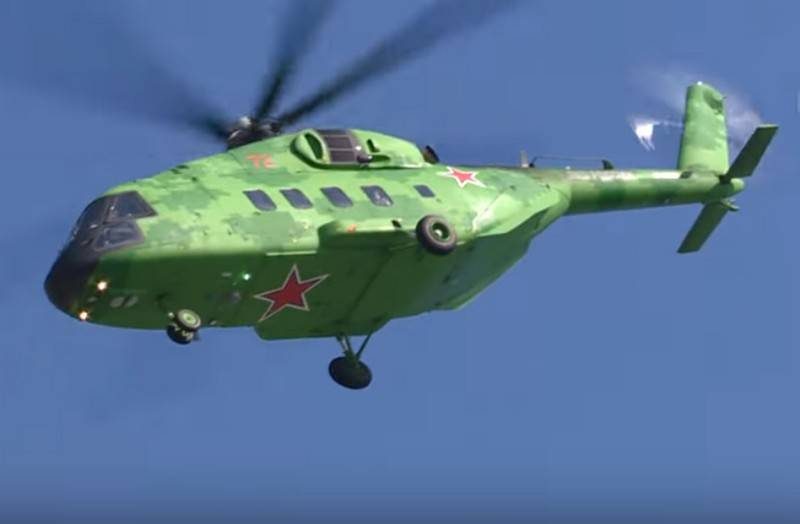 The latest multi-purpose helicopter Mi-38T went for export