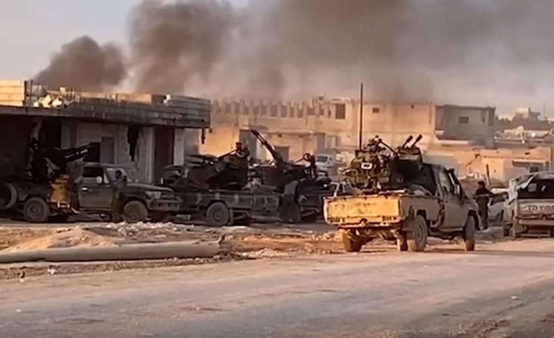 叙利亚军队在努马河畔马雷特完成激进分子包围