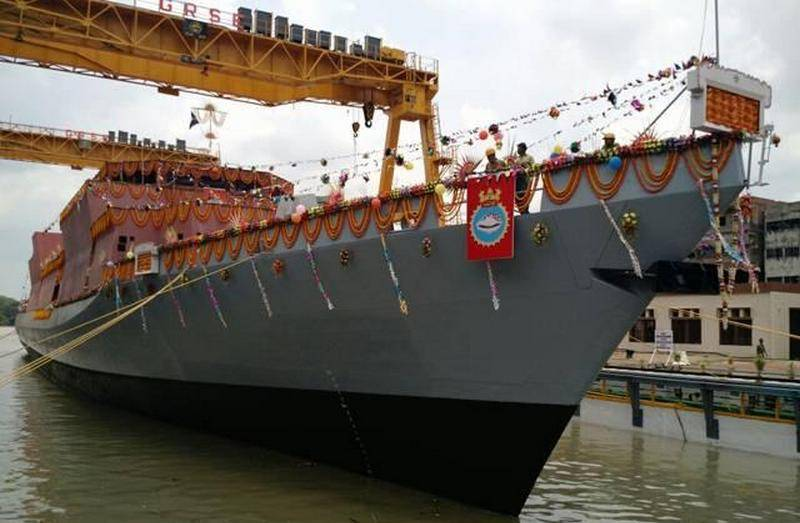 Indian Navy will receive a fourth Corvette-class corvette with a delay of two years